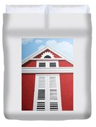 Red House Duvet Cover