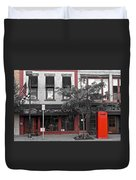 Red Is The Color Of The Day Duvet Cover