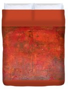 Red Jasper Stone Duvet Cover