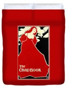 Red Lady The Chap Book1895 Duvet Cover