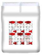 Red Light Glasses Duvet Cover