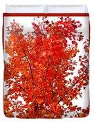Red Lights Duvet Cover