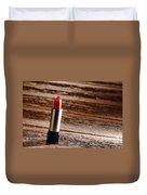 Red Lipstick Duvet Cover