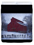 Red Mill Antique Barn Duvet Cover