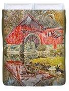 Red Mill II Duvet Cover