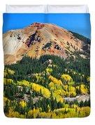 Red Mountain Duvet Cover