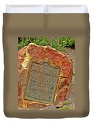 Red Mountain Pass Duvet Cover