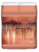 Red Night  Duvet Cover