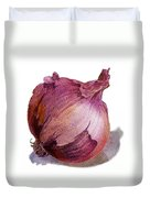 Red Onion Duvet Cover