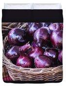 Red Onion Duvet Cover