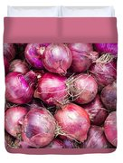 Red Onions Duvet Cover
