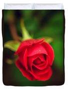Red Petals  Duvet Cover