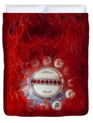 Red Phone For Emergencies Duvet Cover