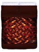 Red Pine Duvet Cover