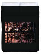 Red Pines Duvet Cover