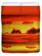 Red Planet Duvet Cover