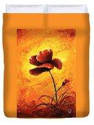 Red Poppy 012 Duvet Cover