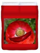 Red Poppy 3 Duvet Cover