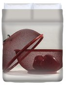 Red Red Apples Duvet Cover