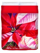 Red Red Christmas Duvet Cover