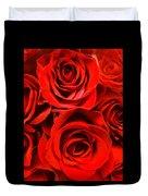 Red Red Rose Duvet Cover