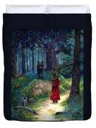 Red Riding Hood Duvet Cover