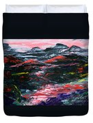 Red River Valley Duvet Cover
