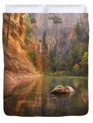 Red Rock Autumn Duvet Cover