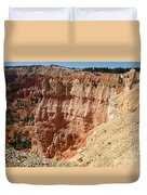 Red Rock Bryce Canyon  Duvet Cover