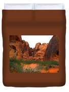 Red Rock Canyon. Duvet Cover
