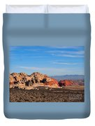 Red Rock Canyon Las Vegas Duvet Cover