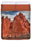 Red Rock Cluster Duvet Cover