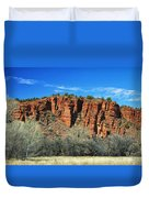 Red Rock State Park Duvet Cover
