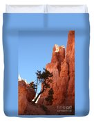 Red Rocks Of Bryce Canyon  Duvet Cover