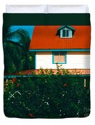 Red Roof Home Duvet Cover