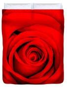 Red Rose 1 Duvet Cover