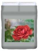 Red Rose II Duvet Cover