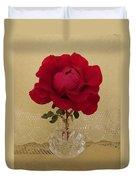 red rose III Duvet Cover