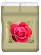 Red Rose Of Love Duvet Cover
