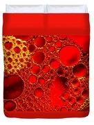 Red Ruby Duvet Cover