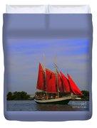 Red Sails Duvet Cover
