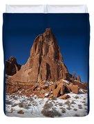 Red Sandstone Arches National Park Utah Duvet Cover
