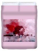 Red Sky Duvet Cover