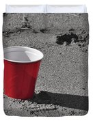 Red Solo Cup Duvet Cover