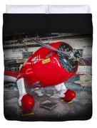 Red Speedster Duvet Cover