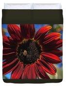 Red Sun Honey Duvet Cover