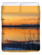 Red Sunset. Valencia Duvet Cover