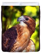 Red Tailed Hawk - 66 Duvet Cover