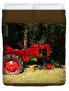 Red Tractor Duvet Cover
