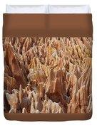 red Tsingy Madagascar 2 Duvet Cover